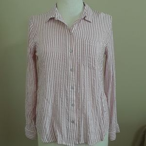 Universal Thread long sleeve striped top size S